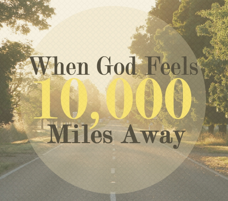 when god feels away