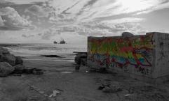graffitti-Seascape---B&W---IMG_9625